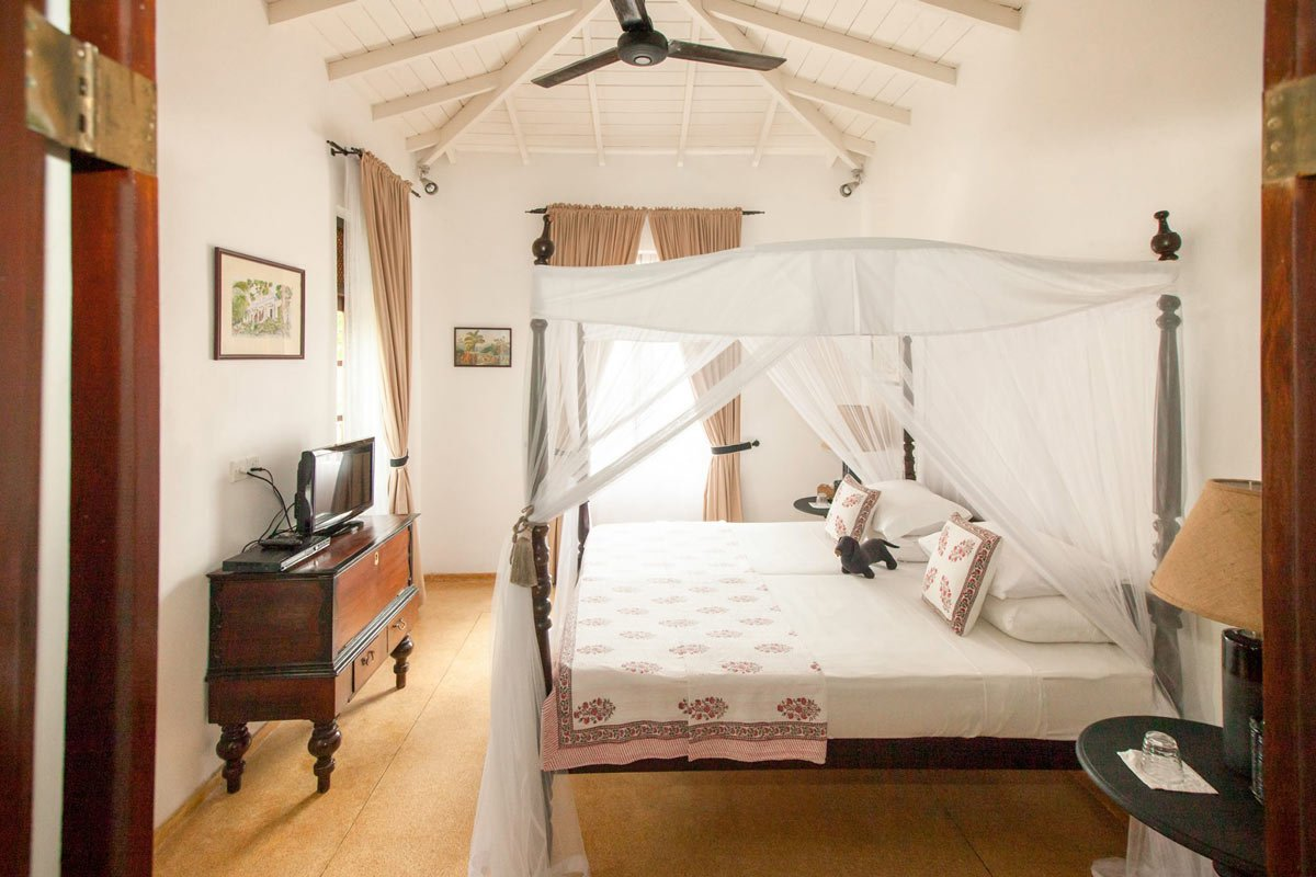 One of the best Galle hotels, Why House is a villa-style property with 10 different rooms in the main house and garden bungalows.