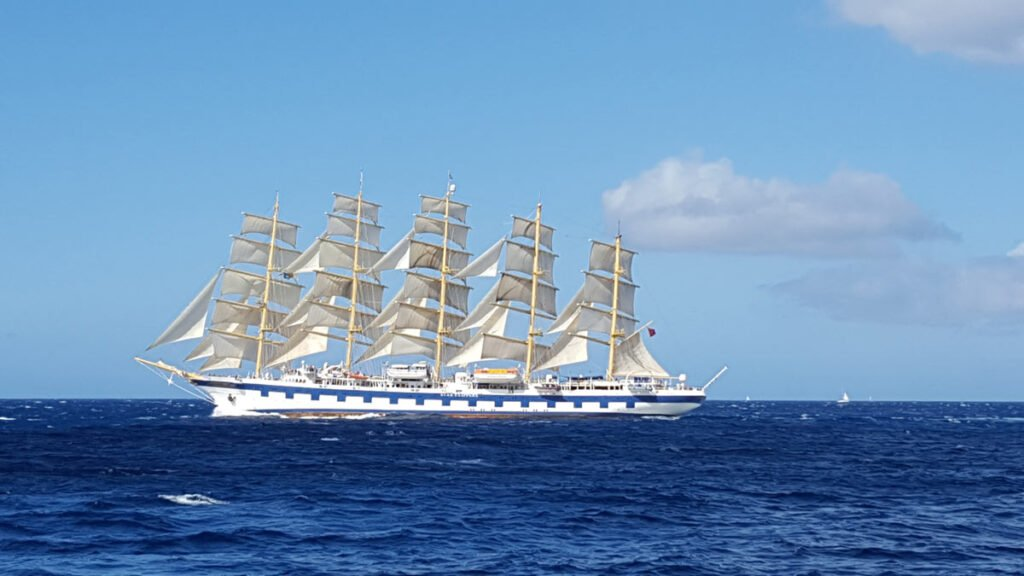 The Royal Clipper is one of the Star Clippers' sailing ships.