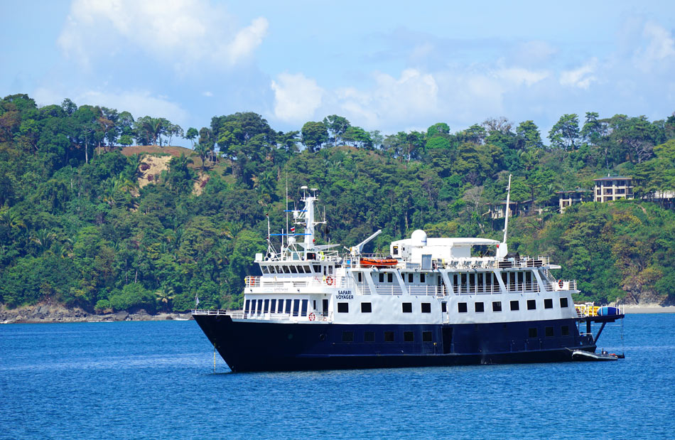 The Safari Voyager cruises Costa Rica and Panama.