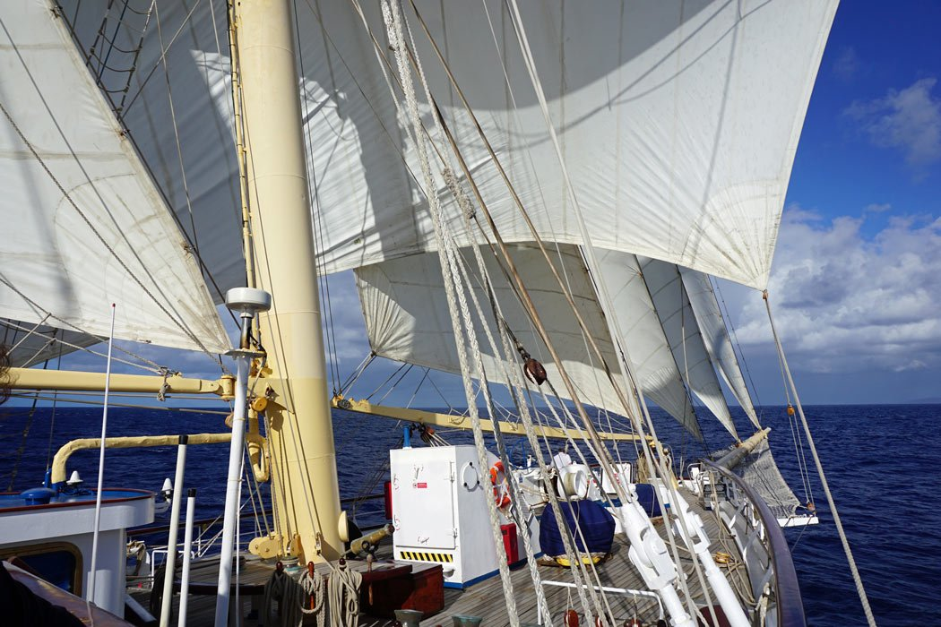 The most enthralling aspect of cruising with Star Clippers is that the voyages are real sailing cruises.