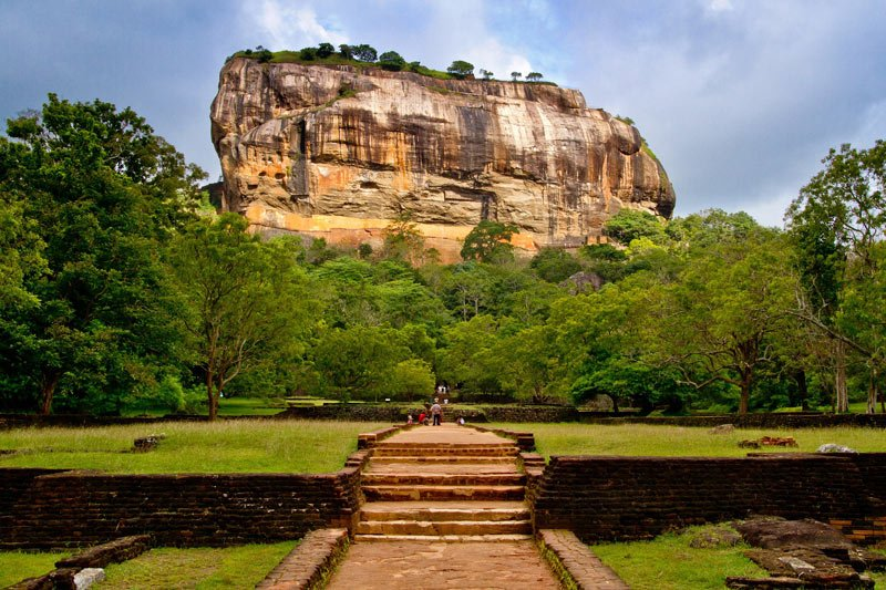 One of the most impressive of Sri Lanka's UNESCO World Heritage Sites is Sigiriya