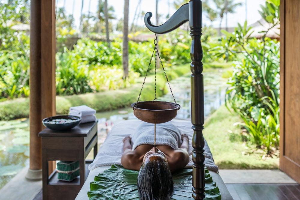 The Chi spa at Shangri-La Hambantota, Sri Lanka, offers authentic Ayuverdic treatments.