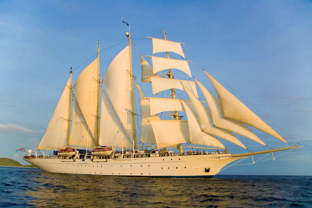 Looking for romance on the high seas? A true sailing adventure? Then you'll love Star Clippers