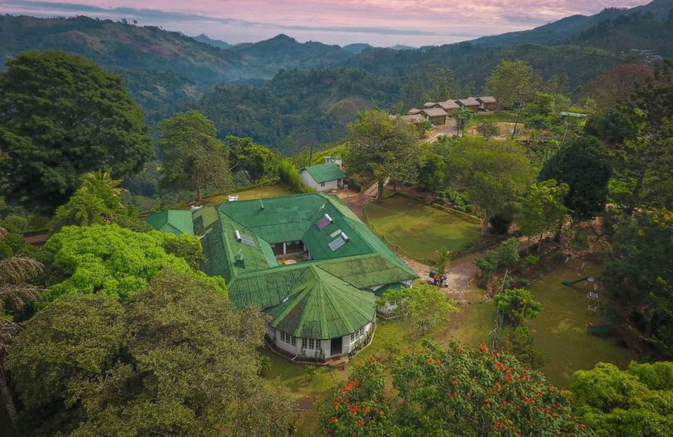 Set on a former 10-acre tea estate, The Secret Ella offers fabulous views of the surrounding mountains.