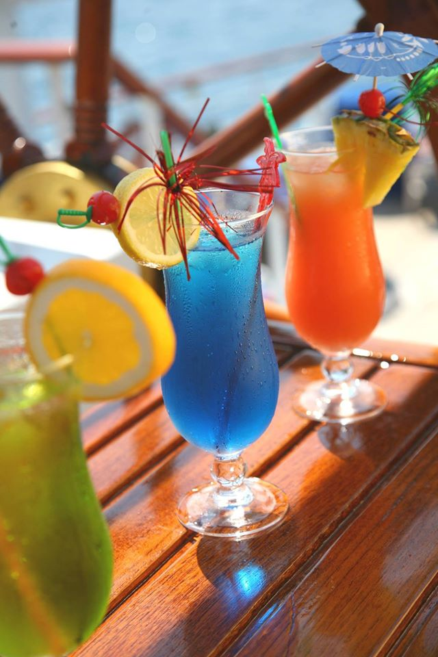 Colorful cocktails can be had for very reasonable prices in the Tropical Bar on Star Clippers' ships.