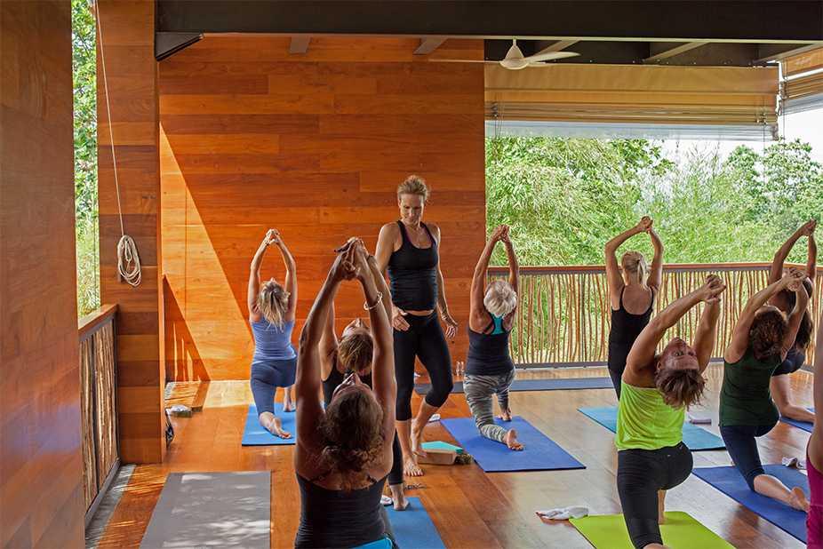 Tri, Sri Lanka, offers yoga classes.