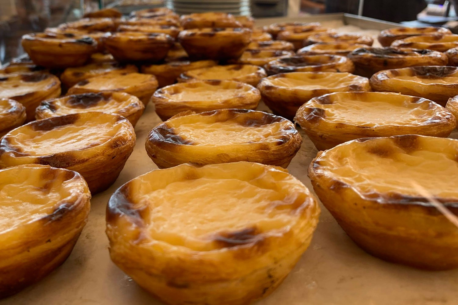 Mmmm... Pasteis de nata are a highlight of Portugal's food culture