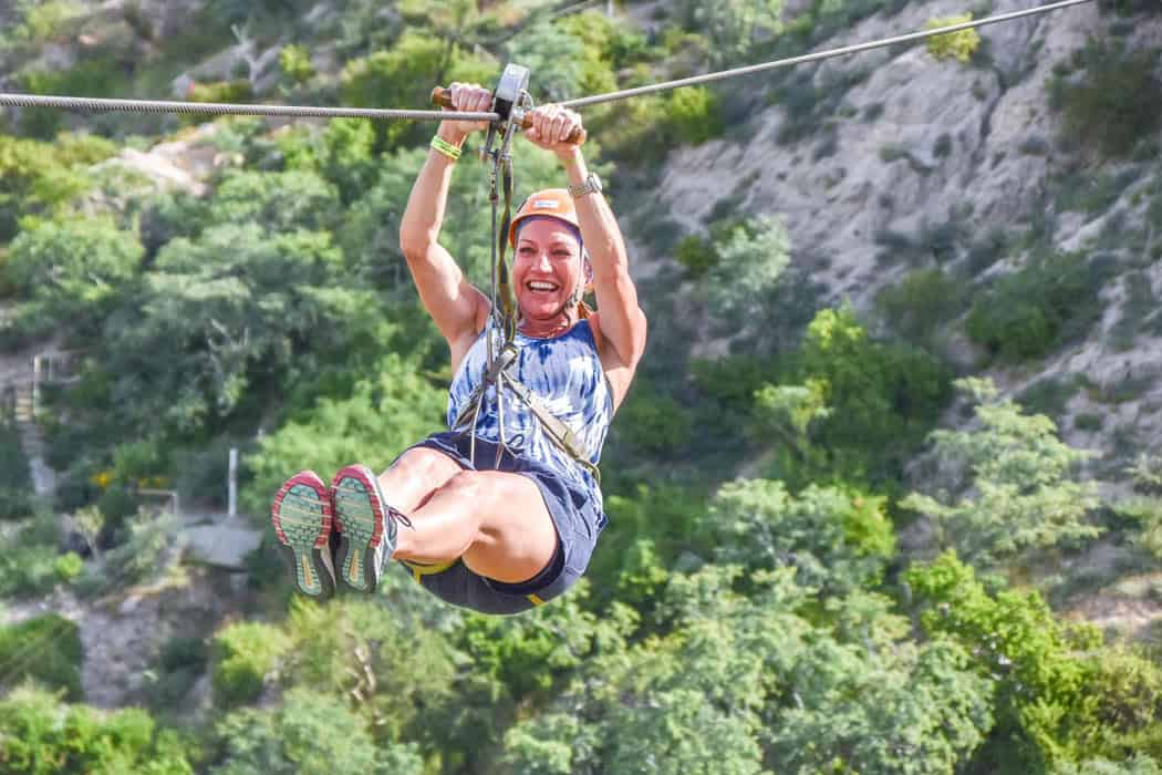 Ziplining is one of the most adrenalin-charged activities in Cabo San Lucas.