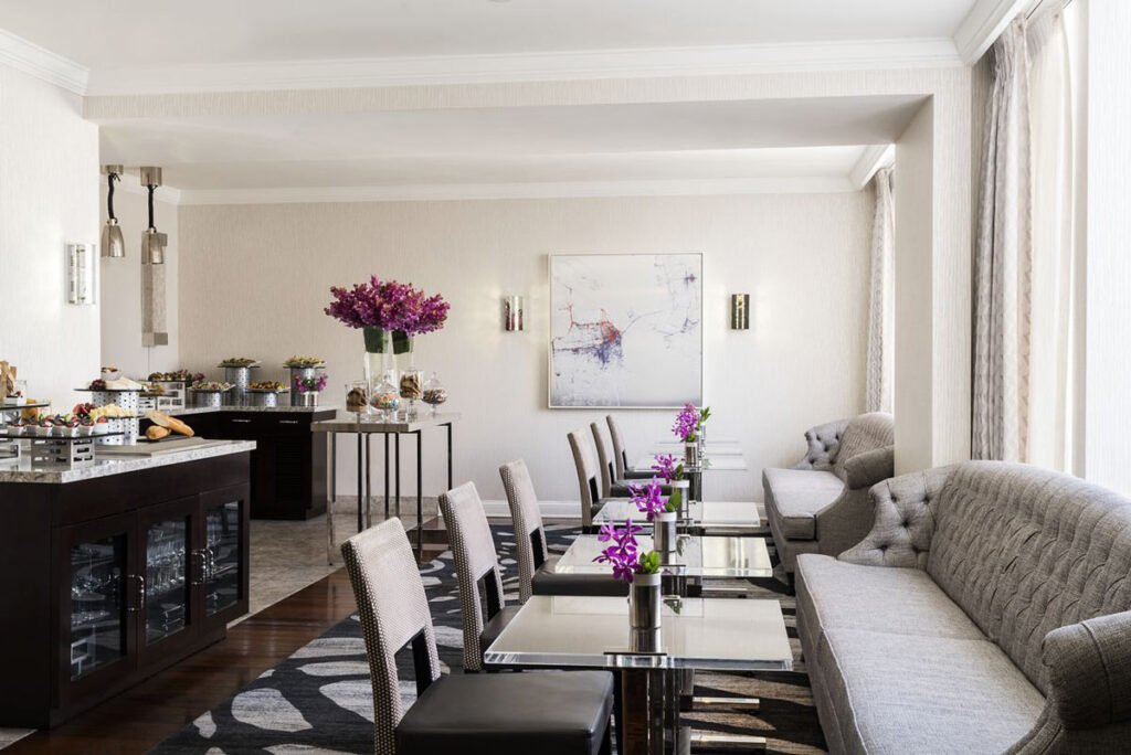The Ritz-Carlton San Francisco Club Level lounge (Credit: Ritz-Carlton San Francisco)