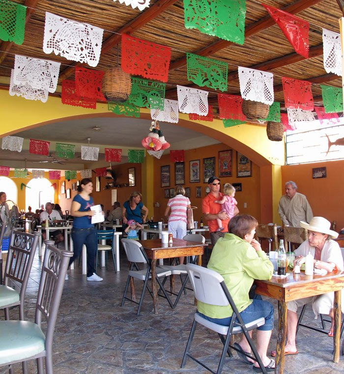 The best tacos in Cabo San Lucas are found at Gardenias. Delicious!