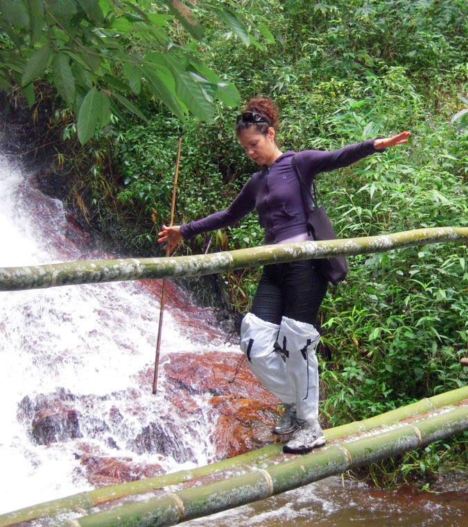 There's some adventurous hiking in Chiang Mai, Thailand!