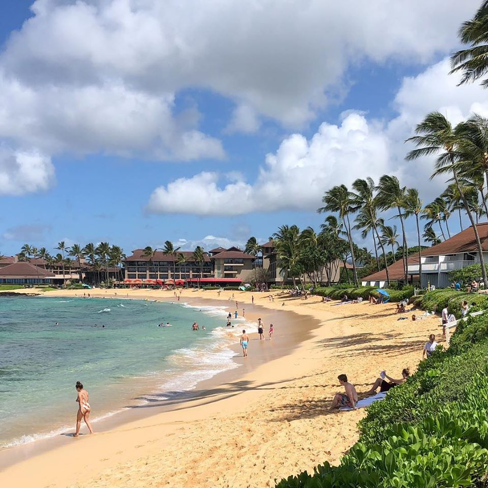 Sun, sea, sand and beachfront condos! (Credit: Outrigger Kiahuna Plantation)