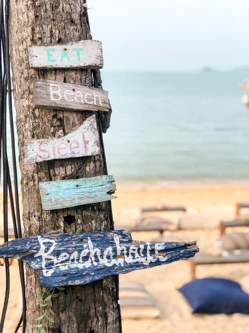 Beach bumming is one of the best things to do in Koh Samui.
