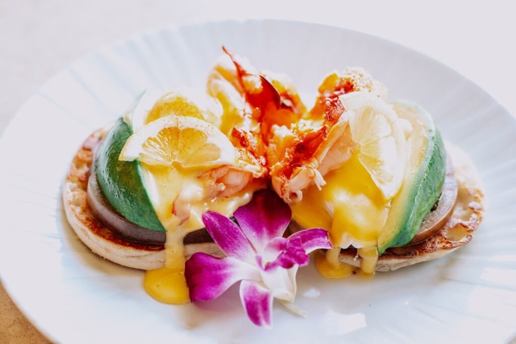 So delish! We had the lobster Benedict every morning for breakfast (Credit: Koa Kea)