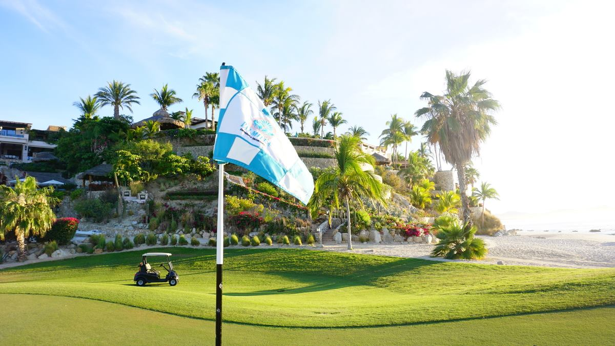 Play golf on the championship Palmilla Golf Course