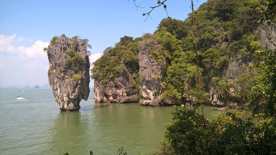 When visiting Thailand, don't miss sea canoeing in Phang Nga Bay!