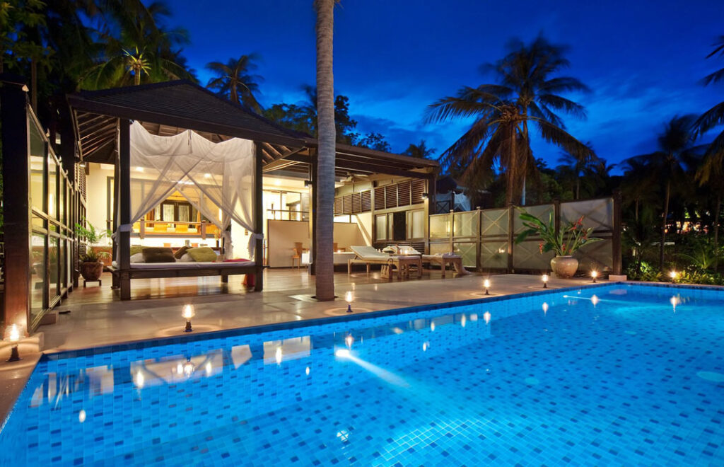Tongsai Bay Grand Villas come with large private swimming pools.