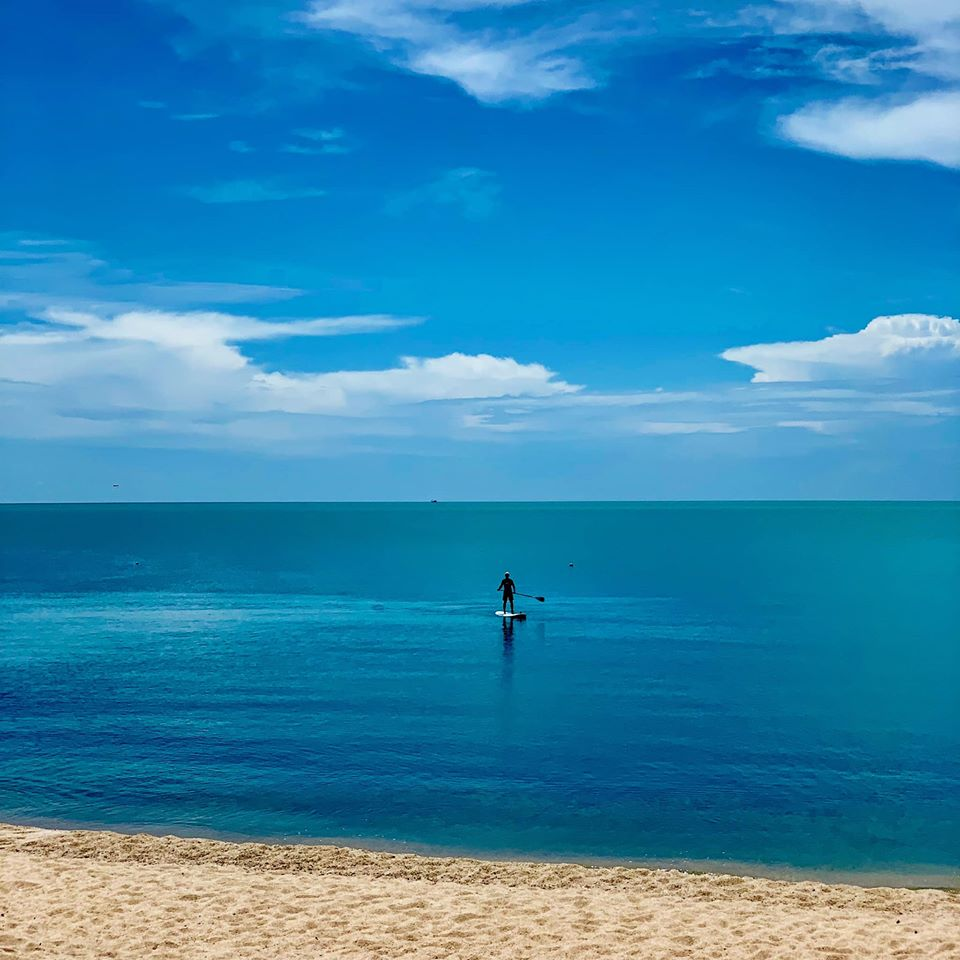 Sailing, kayaking and stand-up paddleboarding are free at Tongsai Bay.
