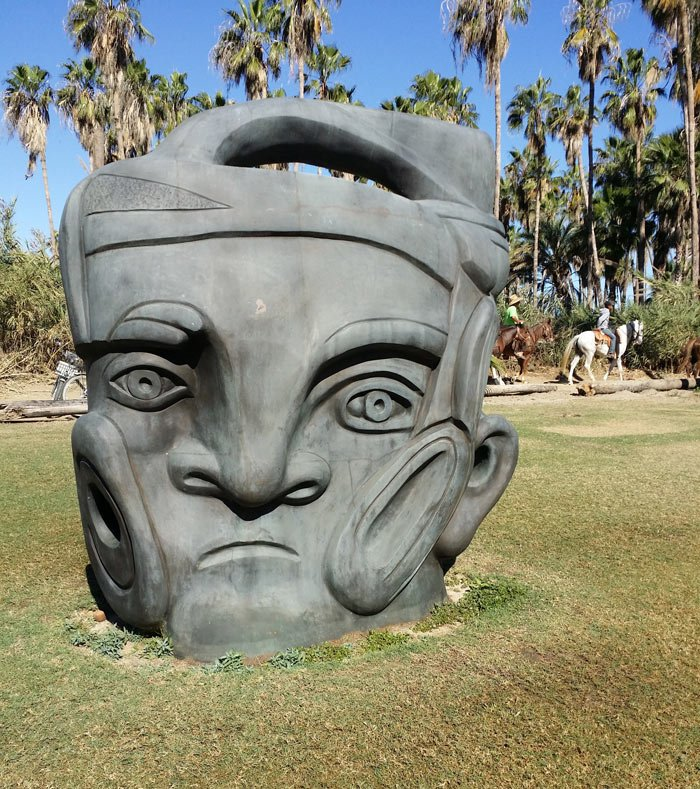 Sculpture at the Puerto Los Cabos sculpture garden
