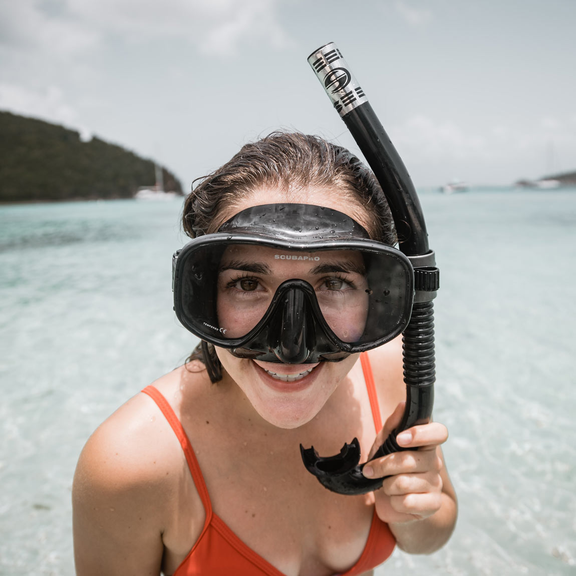 Who's happy to be snorkeling Koh Tao?