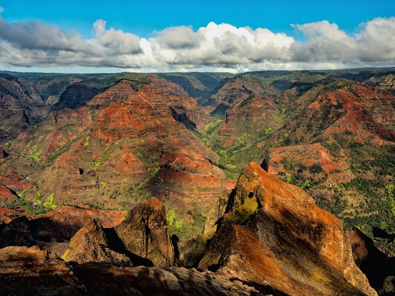 "Waimea Canyon is known as the ""Grand Canyon of the Pacific"""