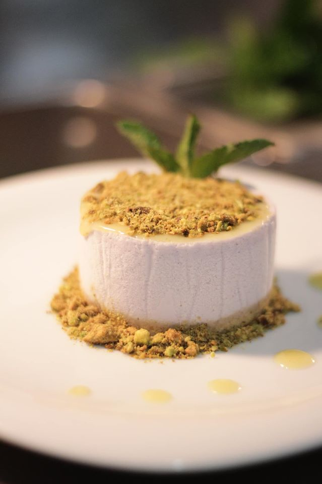 The best dessert at Archie's Wok, Puerto Vallarta, is the delightfully light citrus cloud dessert.