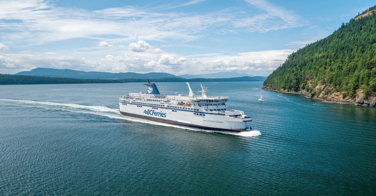 The ferry from Vancouver to Victoria is often cheaper, faster and easier than flying.