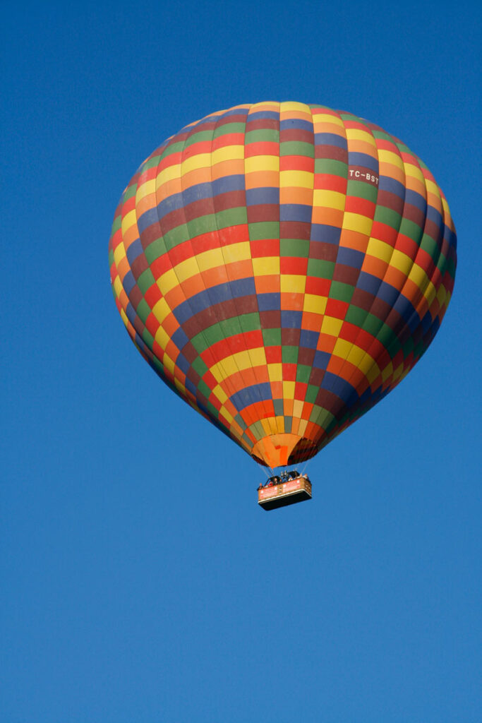 Hot air balloon ride in Turkey