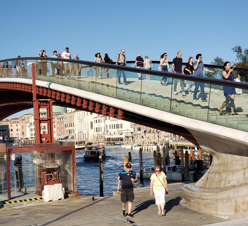 Venice's Constitution Bridge