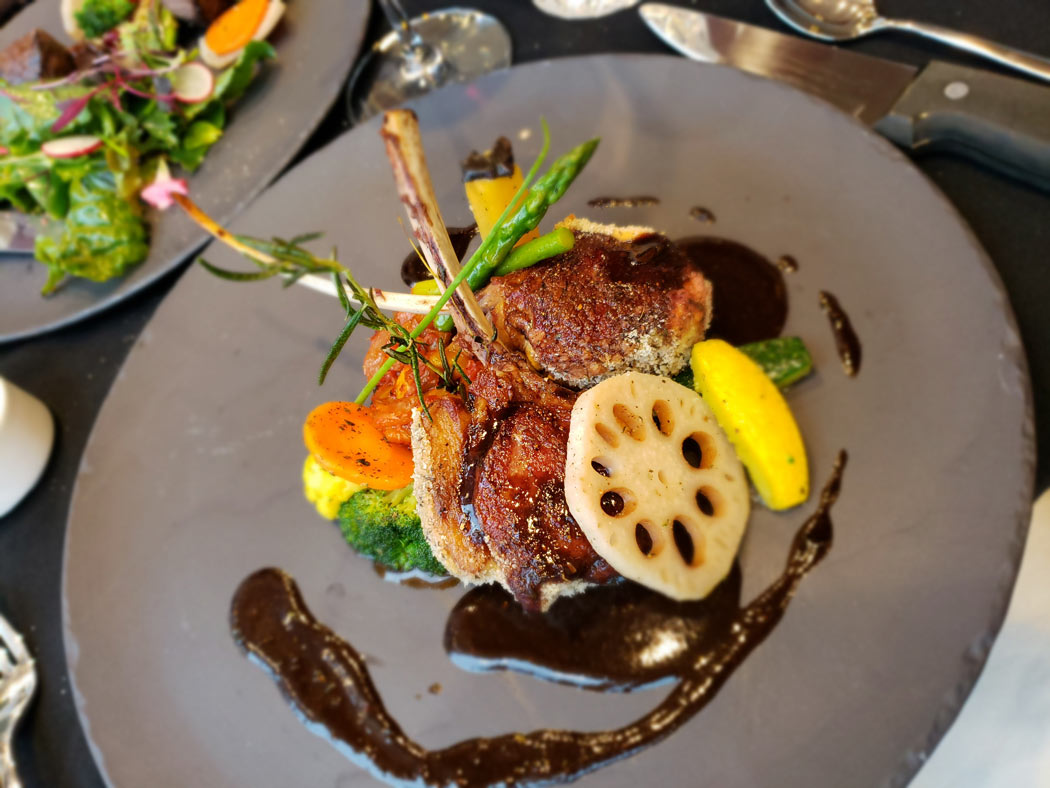 Dinner is a treat at Woodstone Manor, which has one of the best restaurants on Galiano Island.
