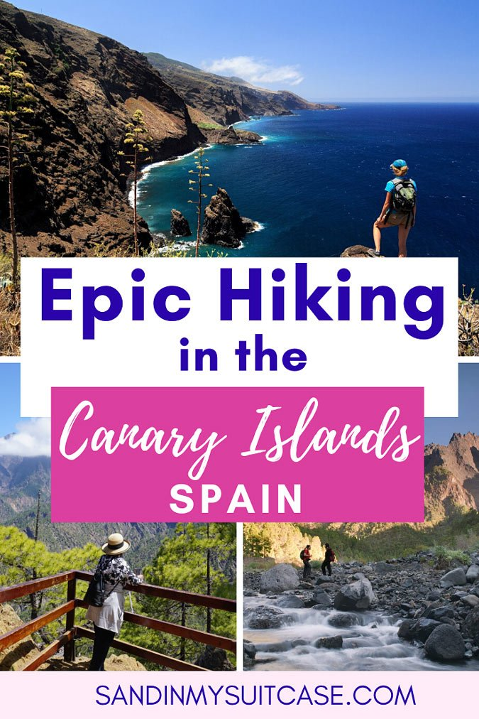 La Palma hiking is epic! It's one of the best places to hike in the Canary Islands...