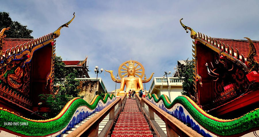 Things to do in Koh Samui? Check out the 40-foot golden Big Buddha on the northern coast.
