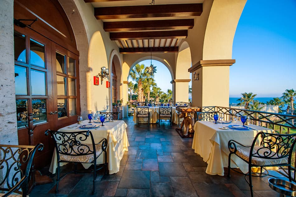 LaFrida is one of the restaurants with a surcharge under the Pueblo Bonito Sunset Beach all-inclusive Deluxe plan.