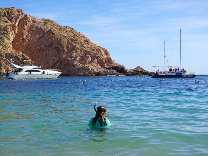 Santa Maria Beach Cabo Snorkeling