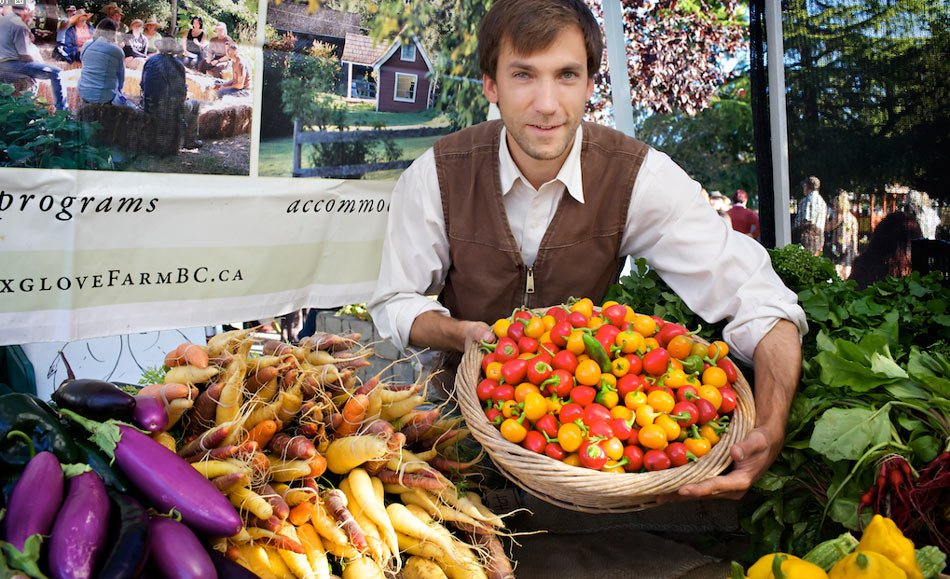 Visiting the Salt Spring Saturday Market is one of the top things to do on Salt Spring Island.