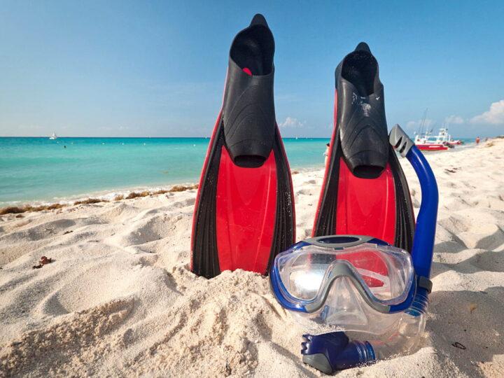 Snorkeling at Santa Maria Beach, Cabo San Lucas