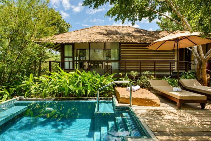 Ulagalla villa with plunge pool