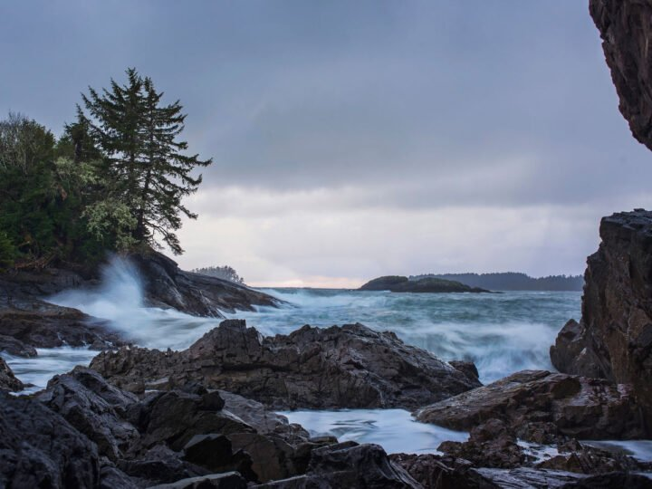 Tofino Storm Watching