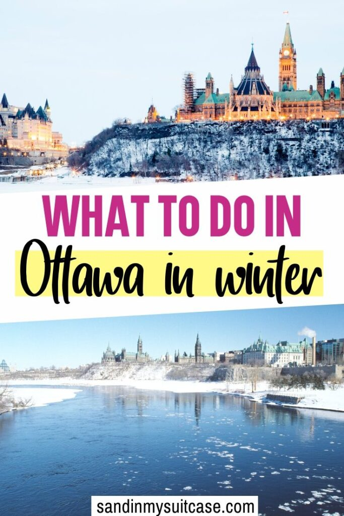 There are no end of fabulous places to visit in Ottawa. In winter, be sure to go skating on Rideau Canal!
