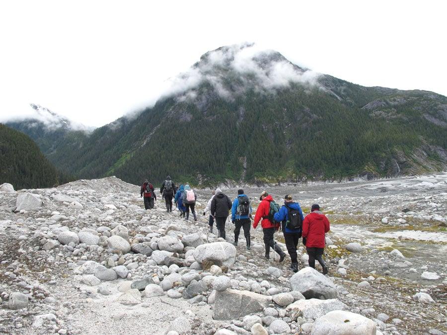 Hiking to Baird Glacier with UnCruise Alaska