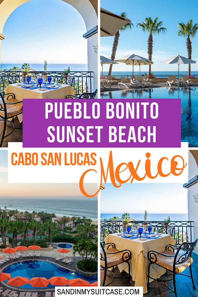 Check out the fabulous Pueblo Bonito Sunset Beach in Cabo San Lucas, Mexico!