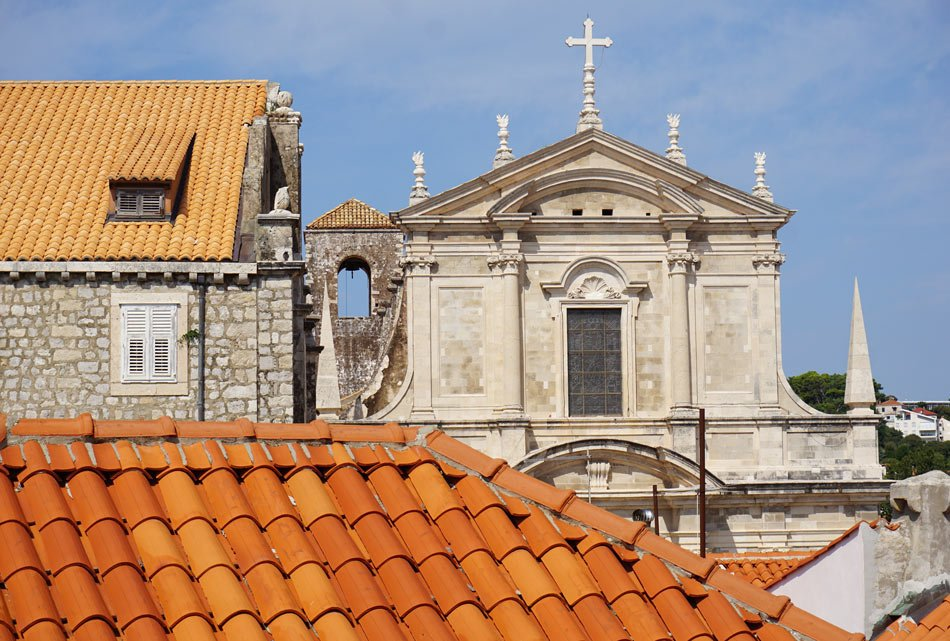 There's so much to photograph on the Dubrovnik Old Town wall walk.