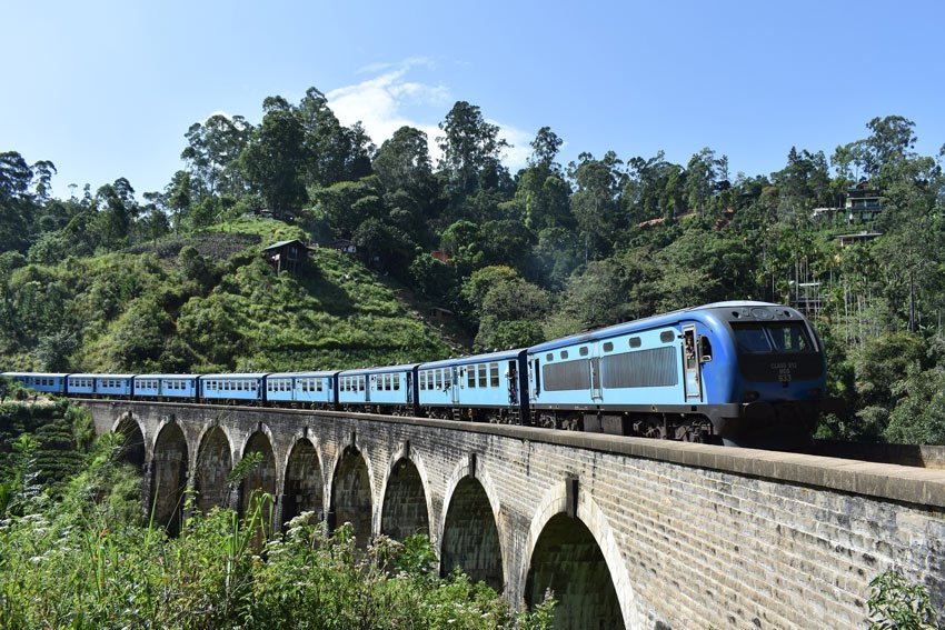 The train from Kandy to Ella rumbles through spectacular scenery.