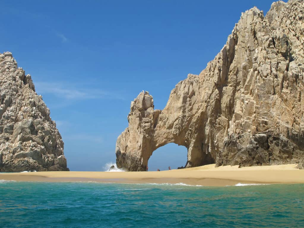 Beach at Land's End in Cabo San Lucas, Mexico