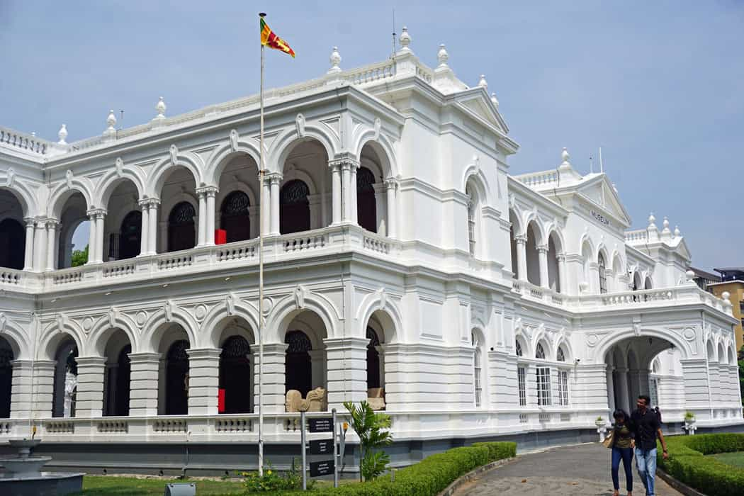 The Colombo National Museum offers a glimpse into Sri Lanka's rich historical past.