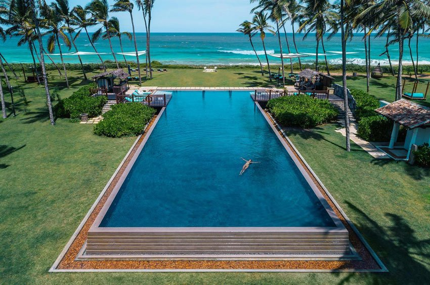 Zen enough for your? The adult pool at Shangri-La Hambantota