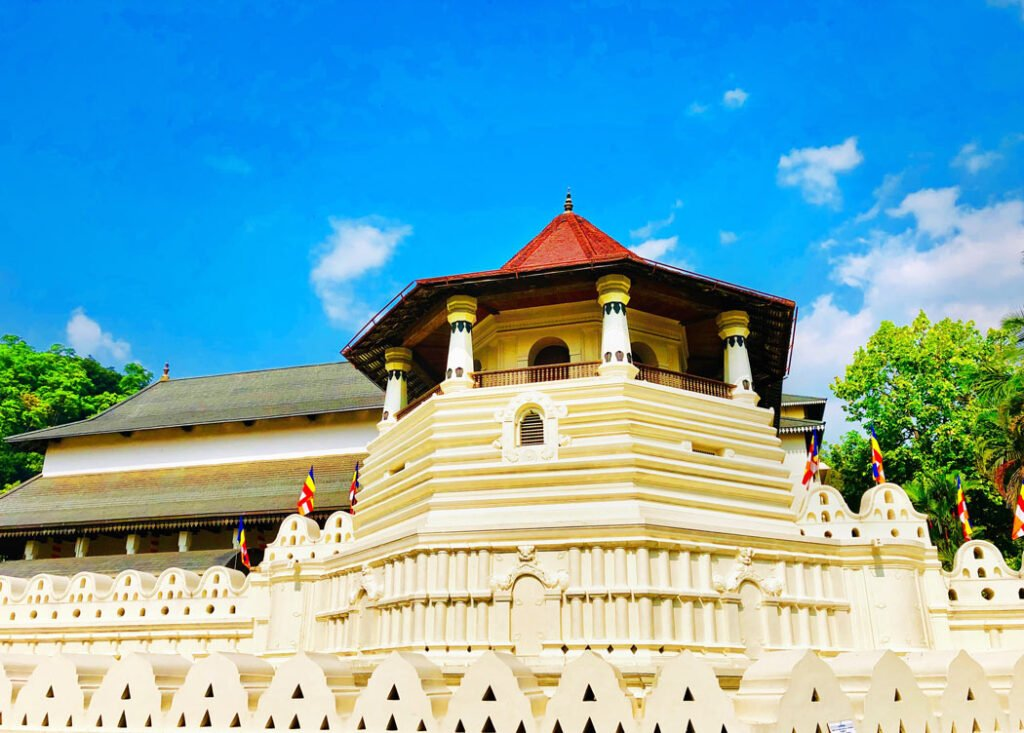 The Temple of the Tooth is the big reason to visit Kandy.