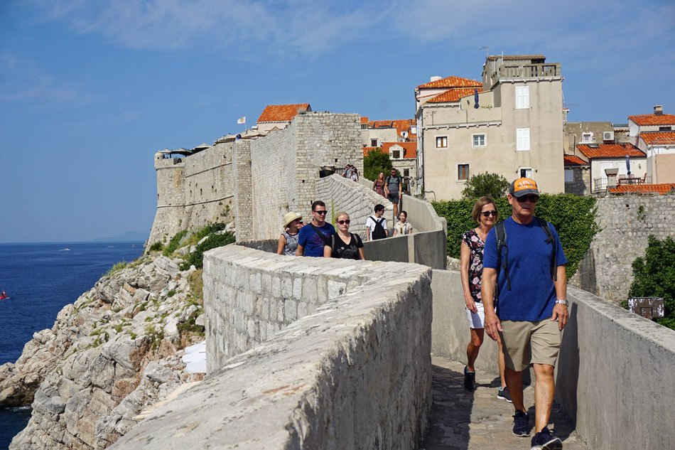 Get some exercise - and see Dubrovnik Old Town too!