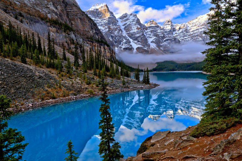 Banff National Park is one of the most visited and best national parks in Canada.