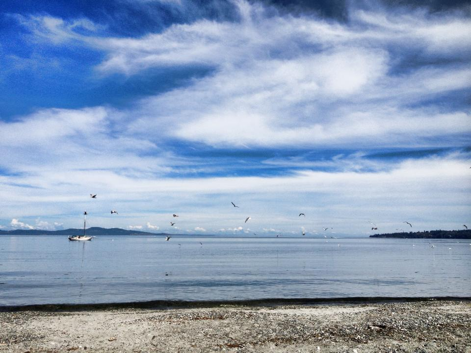 Cordova Bay Beach is one of our favorite Victoria beaches (Credit: Beach House Restaurant)
